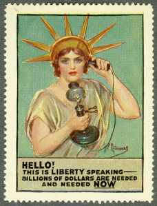 Liberty Calling. Philatelic Collections - Campbell-Johnson Collection, vol. 28 (c) British Library Board